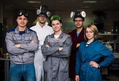Team of scientists under the guidance of Fedor Senatov (PRNewsfoto/NUST MISIS)