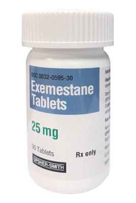 Exemestane Tablets, 25 mg, Upsher-Smith Laboratories, LLC