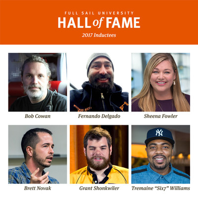 2017 Full Sail University Hall of Fame Induction Class