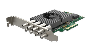 Magewell's new Pro Capture Dual SDI 4K Plus card captures two simultaneous Ultra HD video sources at full 60 frames per second.
