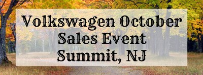 Shoppers looking for a deal on a new Volkswagen can shop during the October Sales Event at Douglas Volkswagen.
