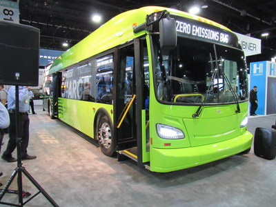 New Flyer of America, Inc., Unveils the Next Generation Electric Transit Bus: The Xcelsior CHARGE™