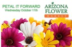 Arizona Flower Market Encourages Random Acts of Kindness by Giving Away Free Flower Bunches