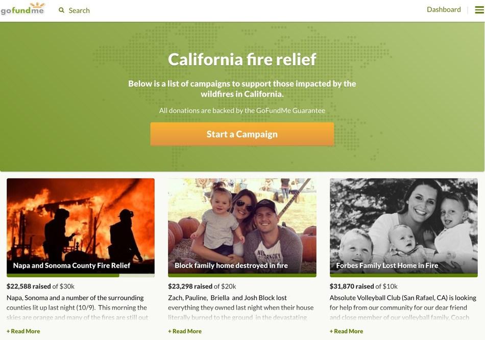 www.gofundme.com/cafirerelief