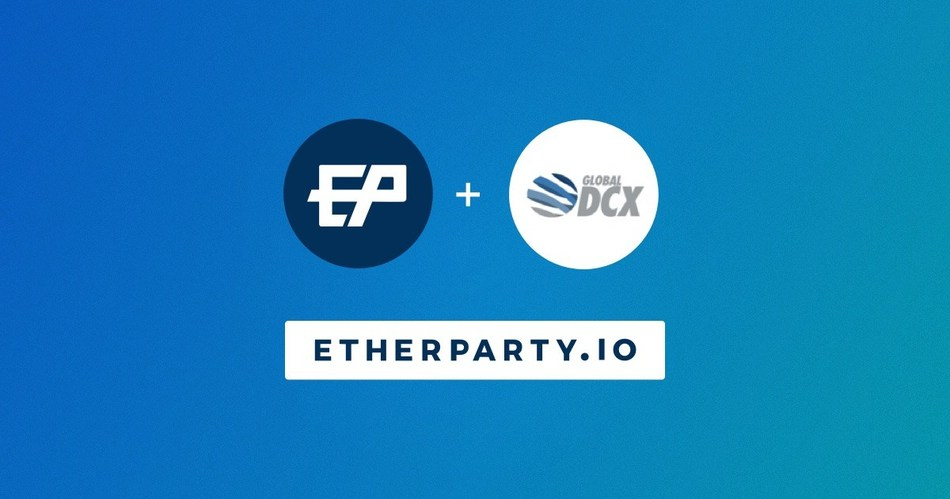 Etherparty Expands Globally with DCX Partnership (CNW Group/Etherparty)