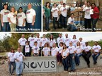 Novus International U.S. Offices Join Forces to Raise Over $20,000 for Hurricane Relief