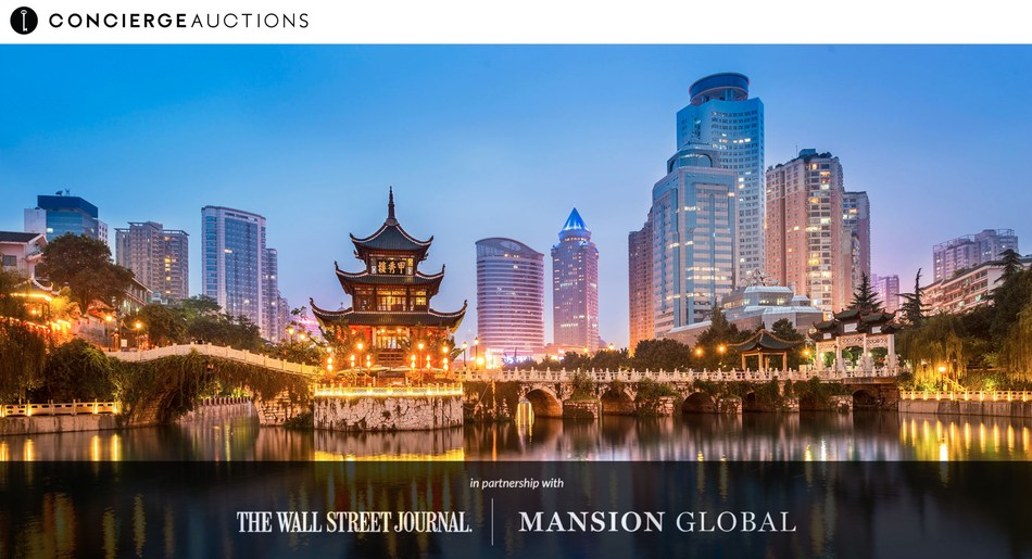 (PRNewsfoto/Concierge Auctions)...