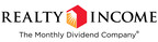 568th Consecutive Common Stock Monthly Dividend Declared By Realty Income