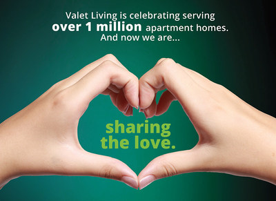 In celebration of this amazing milestone, Valet Living giving back to both the community and to its valued clients who were an integral part of helping Valet Living reach this amazing milestone.