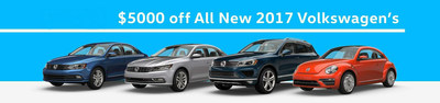 2017 models are featured during this fall savings opportunity at Stokes Volkswagen.