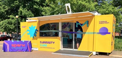 The Curiosity Cube™continues its year-long tour with several stops in Boston