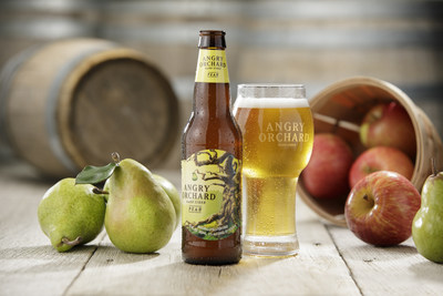 Introducing Angry Orchard Pear, a new hard cider crafted with apples and pears.