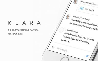 Klara - the central messaging platform for healthcare