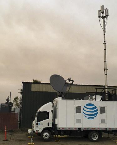 AT&T Sat COLT in Napa, CA