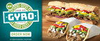 A Gift From The Gods! Quiznos Offers Free Gyro Flatbread October 25 To Celebrate Introduction of New, Limited Time Offer Menu Items