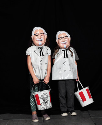 This Halloween Kentucky Fried Chicken® has cooked up vintage-inspired Colonel Sanders Halloween costumes and limited-edition trick-or-treat buckets, so KFC fans can spend October 31 indulging in the spirited tradition of trick-or-treating, dressed as the world's greatest chicken salesman.