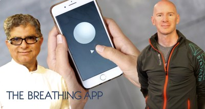 Deepak Chopra & Eddie Stern's The Breathing App