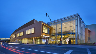 Greater Columbus Convention Center Expansion and Renovation. Exterior view. Image © Christopher Barrett.