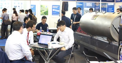 Product showcase and networking session at Vietwater 2016
