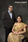 Ms. Vaishali Soni ( Director) and Mr. Harshad Soni ( Director), Harvish Jewels, Vadodara, Gujarat (PRNewsfoto/Harvish Jewels)