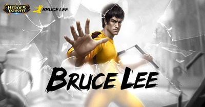 O Poderoso Bruce Lee chegou em Heroes Evolved (PRNewsfoto/R2Game Co. Limited)