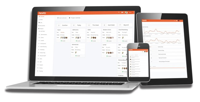 Nuvro - An online project and team management tool that helps you gain control and peace of mind over all of your projects, tasks, team members, workload and everything else important to your company.