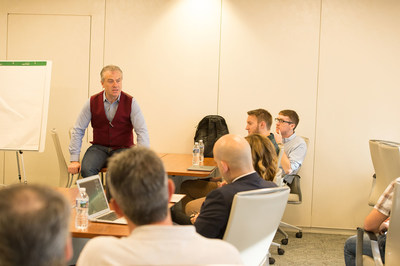 SmartInvest Ventures Managing Partner, Gerry Moan shares feedback with Life's A Pitch candidates last month.