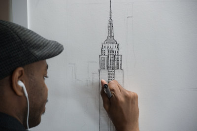 Internationally Acclaimed Artist Stephen Wiltshire To Sketch Empire State Building and New York City Skyline From Memory
