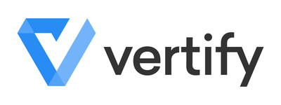 The technology firm previously known as The New Office, creators of MuvData, is excited to announce the launch of their new and improved brand, Vertify, Inc. (PRNewsfoto/Vertify)