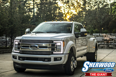 Sherwood Ford encourages interested truck buyers to reserve the new 2018 Ford Super Duty line of trucks