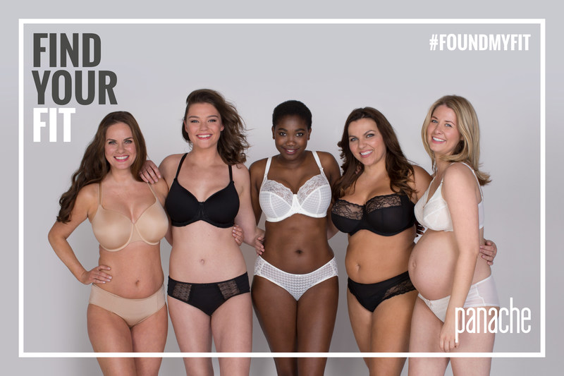 """Panache launches """"Find Your Fit,"""" a new campaign encouraging women around the world to have a professional bra fitting and to find their perfect bra size. Find out more at https://www.panache-lingerie.com/find-your-fit. #FoundMyFit"""