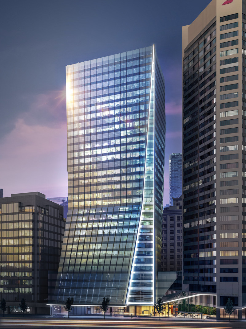 GWL Realty Advisors has officially broken ground on Vancouver Centre II, a 33-storey AAA office tower in downtown Vancouver. (CNW Group/GWL Realty Advisors)