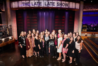 As part of their multi-day Hollywood Adventure!, the Gary Sinise Foundation arranged for the TAPS spouses to attend a taping of The Late Late Show with James Corden where they even got to meet the host himself.