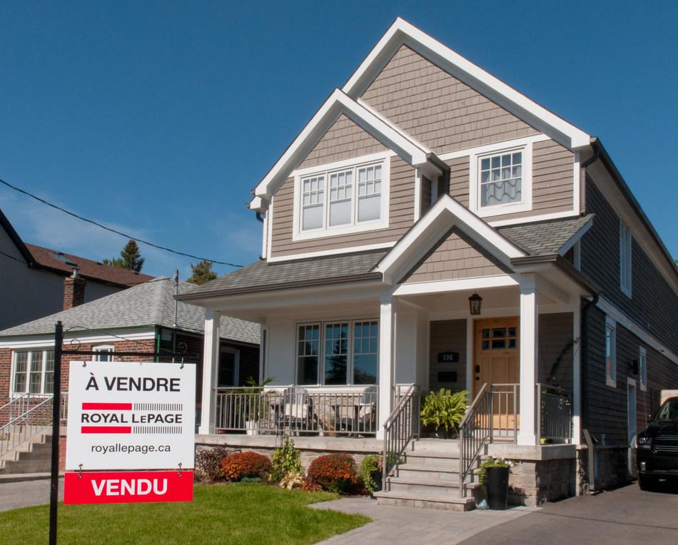 La croissance des économies régionales relèvera le prix des maisons dans les plus grands marchés immobiliers du Canada (Groupe CNW/Services immobiliers Royal LePage)