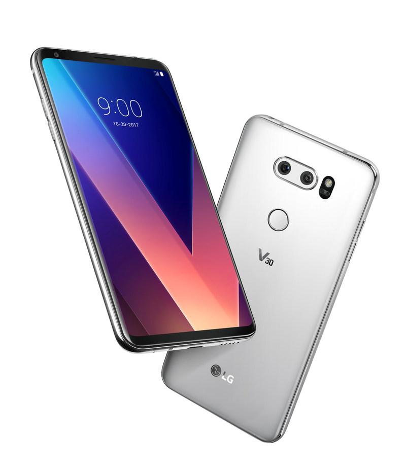 LG Electronics (LG) dévoilera le 20 octobre 2017 aux Canadiens le LG V30, la plus récente version des téléphones intelligents phares de la série V de LG. (Groupe CNW/LG Electronics Canada)