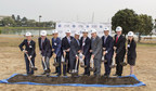 City officials and representatives from Oyster Point Development, LLC, break ground in South San Francisco. ©2017 Billy Hustace