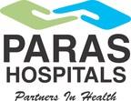 Paras Hospitals Logo (PRNewsfoto/Paras Hospitals, Paras Group)