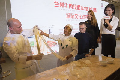 When Lanzhou Beef Noodles Meet Pasta: Taste of Cultural Feast
