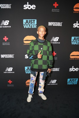 Umami Burger x Jaden Smith Artist Series Launch Event