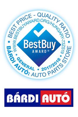 Bárdi Autó Best Buy Award