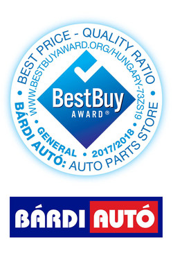 Bárdi Autó Best Buy Award