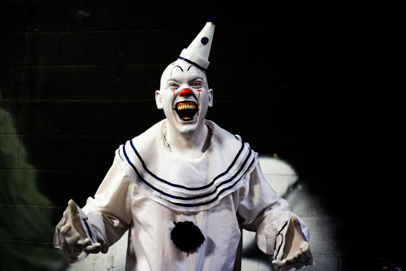 Clowns, like this one lurking at the 13th Gate in Baton Rouge, are just part of what is scaring Halloween fans in 2017. America Haunts has named the five scariest haunted houses and haunted attractions in 2017. They are: 13th& Gate, Baton Rouge; House of Torment, Austin; Bennett's Curse, Baltimore;& Headless Horsemen, Ulster, New York; and& Nightmare on 13th, Salt Lake City. America Haunts sets the trends for Halloween thrills at the most elaborate attractions from coast to coast.