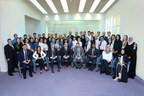 The team at Moorfields Eye Hospital Dubai celebrates 10 years in the UAE (PRNewsfoto/Moorfields Eye Hospital Dubai)