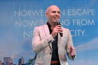 Norwegian Escape's Godfather and international music star, Pitbull, and Norwegian Cruise Line President and Chief Executive Officer Andy Stuart celebrated Norwegian Escape coming to homeport in the Big Apple in Spring 2018. Pitbull and Stuart toasted the beautiful ship, as well as discuss their joint support for Hurricane relief efforts in the Caribbean.