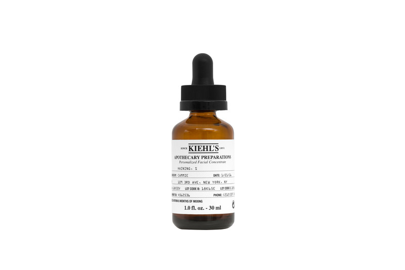 Kiehl's Apothecary Preparations, an in-store only service, is now available in all Kiehl's retail stores. Apothecary Preparations is truly personalized skincare featuring potent concentrates that address an individual's unique skin concerns.