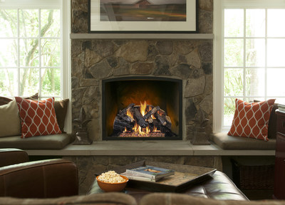 The Real Fyre® Collection includes Vented, Vent-Free and Direct Vent Insert products featuring more than 40 different handcrafted log styles.