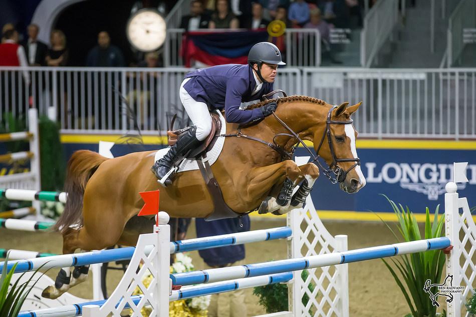 Kent Farrington of the United States, currently ranked the number-one show jumping athlete in the world, will compete at the Royal Horse Show, held as part of the 95th Annual Royal Agricultural Winter Fair, from November 3-12, 2017, at Exhibition Place in Toronto, ON. Photo by Ben Radvanyi Photography (CNW Group/Royal Agricultural Winter Fair)