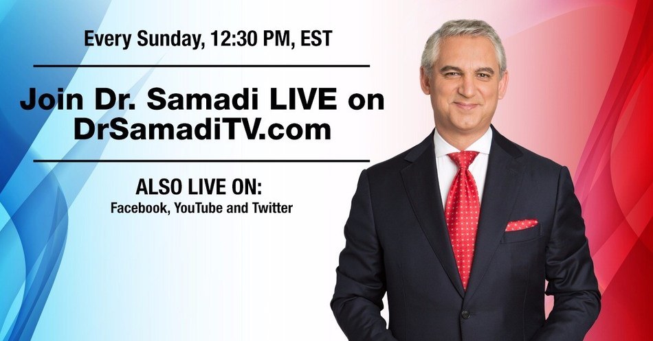 Join Dr. Samadi LIVE on DrSamadiTV.com