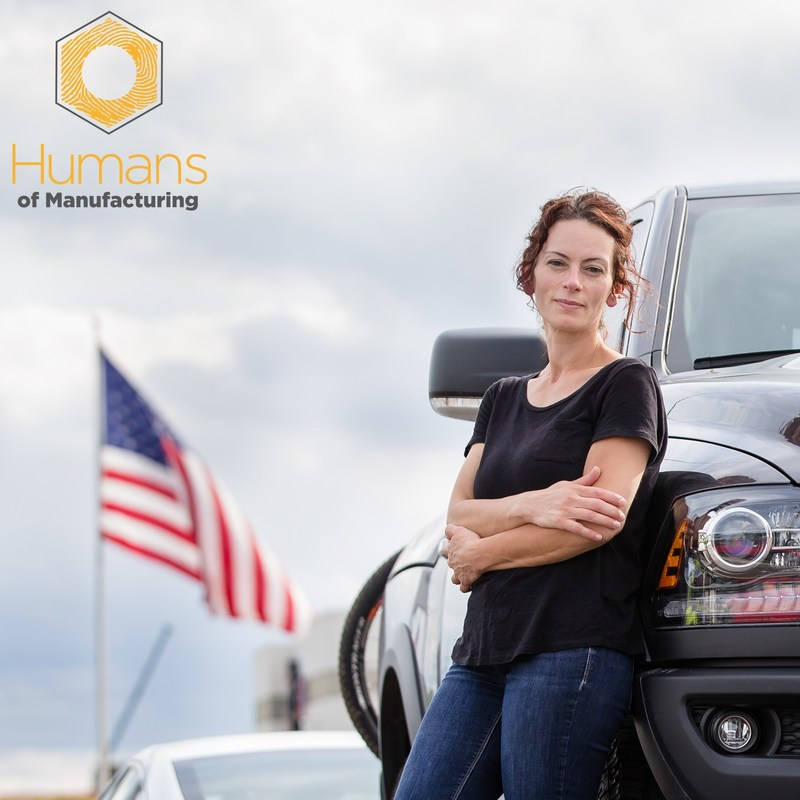 Human of Manufacturing: Ally Lucaj, single mother, cancer survivor and Chrysler employee. Her story is one of human innovation in manufacturing, teamwork and patience.
