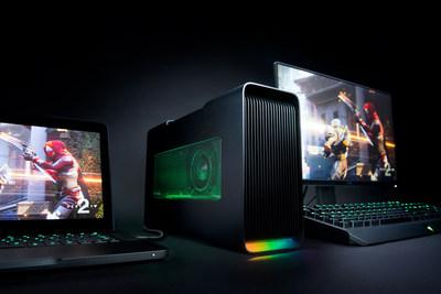 The New Razer Core V2 external graphics enclosure